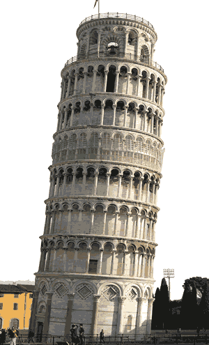 The Middle Ages - Leaning Tower of Pisa