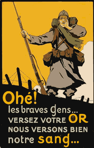 World War I - French World War 1 poster